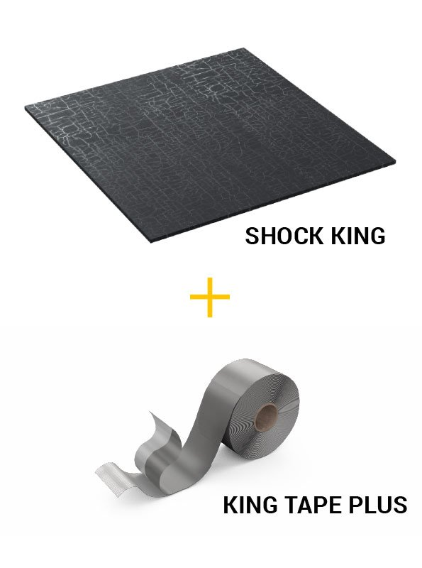 Accessori per pavimento sopraelevato KING - SHOCK KING PLUS SYSTEM Cover